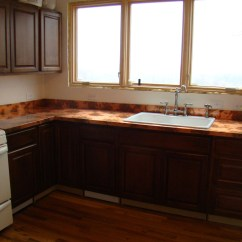 Copper Kitchen Countertops Block On Wheels The And Diy