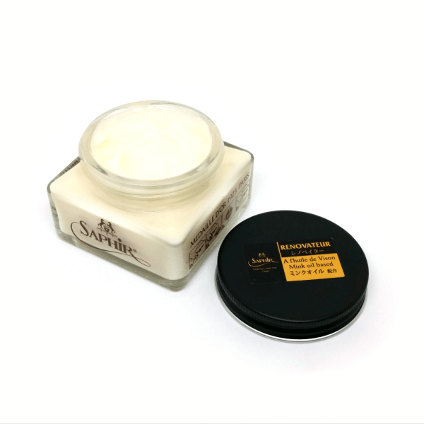 saphir renovateur leather cleaner conditioner open
