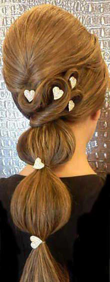 pic 1445856123 792 صور تسريحات شعر وميك اب 2016 , اجمل تسريحات للشعر المرفوع