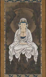 White-robed Kannon,_Bodhisattva of Compassion by Kanō Motonobu