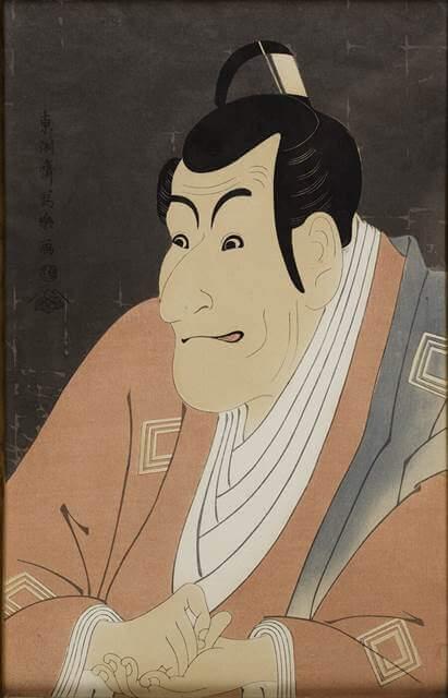 Ichikawa Ebizo as Takemura Sadanoshin by Tōshūsai Sharaku