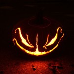 Expertly carved Jack O' Lantern