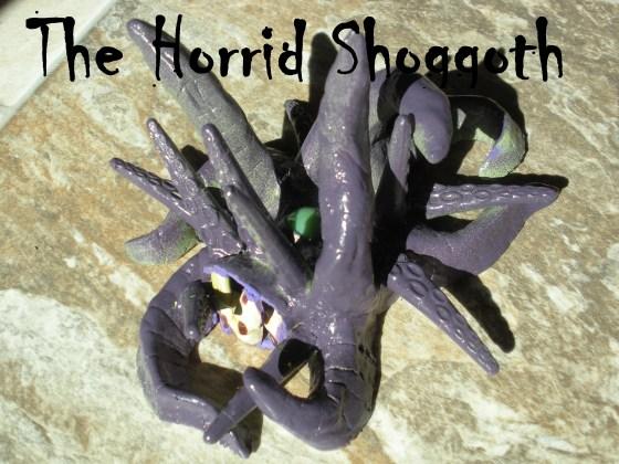 Shoggoth sculpture