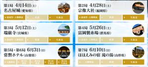 叡王戦七番勝負日程