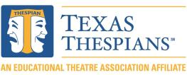 Texas Thespians Header