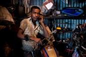 A teenage mechanic in Dhaka, Bangladesh.