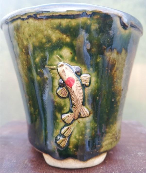 Lotus Koi Bonsai Pot