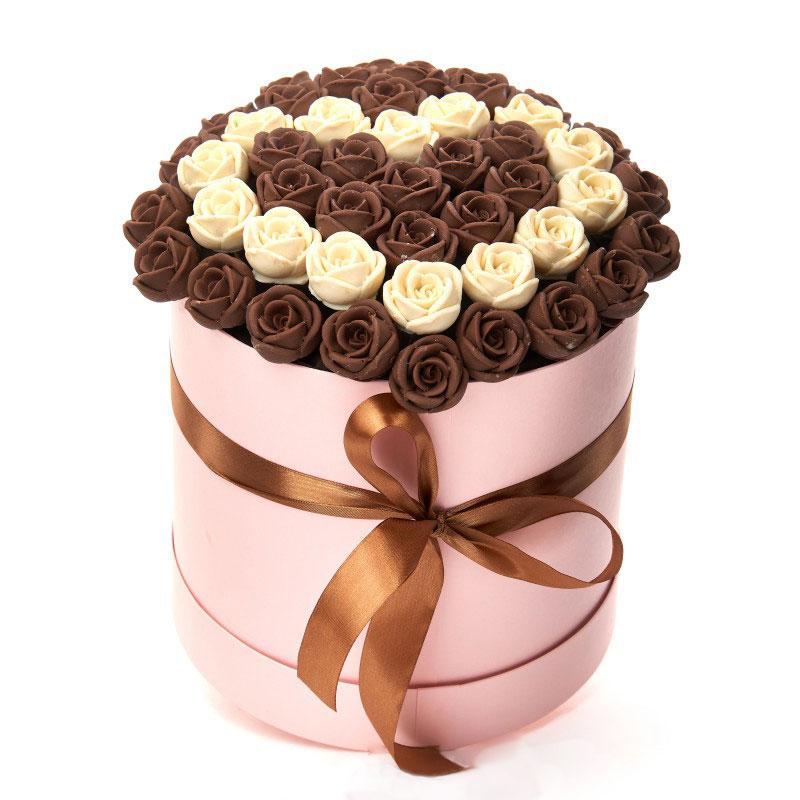 Букет шоколадных розы киев цена, чайная