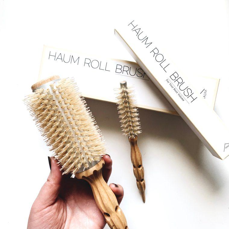 【Qoo10購入品】韓国有名サロンHAUM(ハウム) のヘアロールブラシが優秀。これであなたもふわふわヘアの韓国女子!