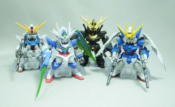 FW GUNDAM CONVERGE SELECTION [REAL TYPE COLOR] レビュー