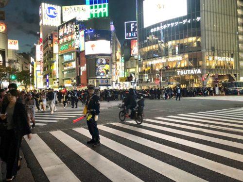 ハロウィーン・渋谷
