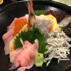 「天海」(江の島)の海鮮丼