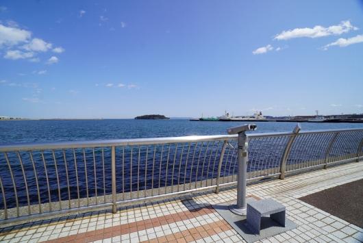 三笠公園の海