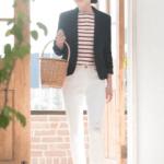 【ユニクロで買ったジャケット〜ママ友とモロかぶりしやすい時は、こう着る】