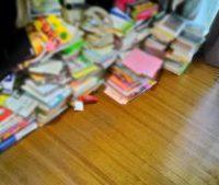 【本の断捨離と心身の関係】〜汚部屋住人Mの部屋で気がついた、本は心身のバロメーター