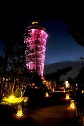 江の島灯籠2013:シーキャンドルライトアップと和の灯りのコラボ