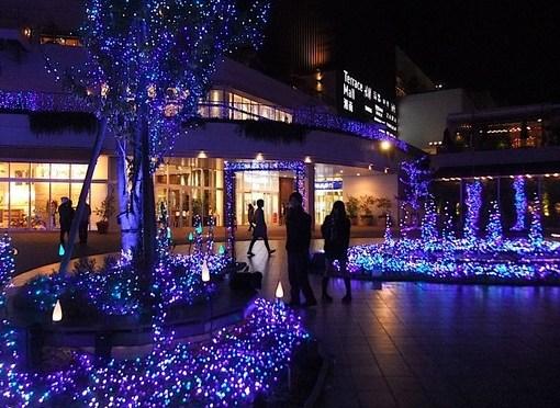 テラスモール湘南イルミネーション「Terrace Mall 湘南 Xmas Illumination 2014」