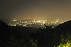 平塚湘南平のテレビ塔からの夜景