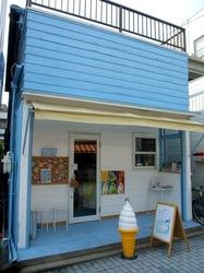 鵠沼海岸駅のカフェQuarter's(クォーターズ)の外観