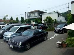 藤沢市大庭のイタリアンマカロニ市場@湘南ライフタウンの駐車場