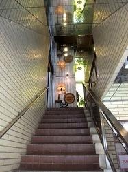 藤沢市鵠沼海岸のレストラン&カフェカブトスカフェの入口