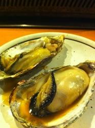 大船かき小屋○座の焼き牡蠣