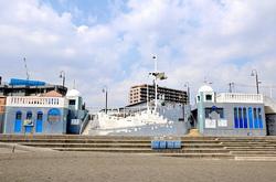 マンガコミック『ピンポン』の背景シーン&ロケ地の片瀬東浜