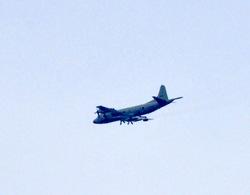 マンガコミック『ピンポン』の背景シーン&ロケ地の自衛隊の飛行機