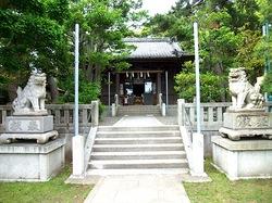 マンガコミック『ピンポン』ロケ地の片瀬諏訪神社