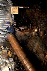 新潟県佐渡島の佐渡金山の江戸時代の宗太夫坑