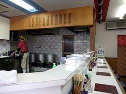 藤沢本町のラーメンすゞノや(すずのや)の店内