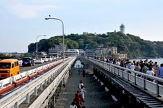 江の島花火大会203の穴場観覧スポット弁天橋