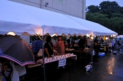 大清水浄化センター「ふじさわ下水道フェア2014」の模擬店
