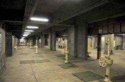 大清水浄化センター「ふじさわ下水道フェア2014」の施設見学ツアー