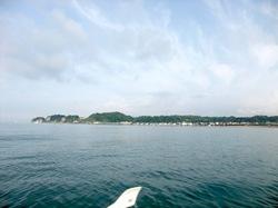 鎌倉材木座の上ノ山ボートでキス釣り