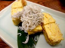 鎌倉のそば懐石峰本の卵焼き