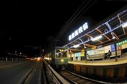 江ノ電駅イルミネーション・ライトアップ鎌倉高校前