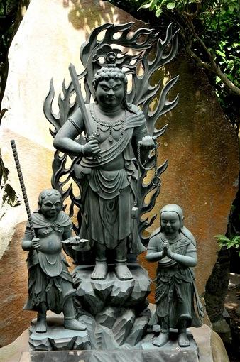 鎌倉極楽寺成就院の恋愛祈願のパワースポット不動明王