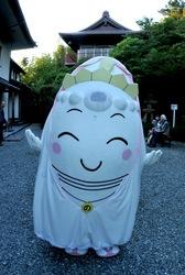大船観音キャンドルナイト2013でのんちゃん