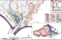 湘南藤沢江ノ島の津波予想とハザードマップ