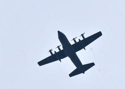 厚木航空基地からの航空機騒音P-3C Orion