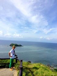 湘南から沖縄八重山旅行石垣島の平久保崎灯台