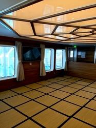 湘南藤沢から五島列島へ宇久島の太古フェリー客室