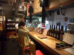 藤沢善行のホルモン焼き元気屋の店内