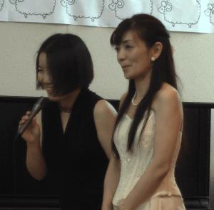黒木あすかさんと竹口苗里さん
