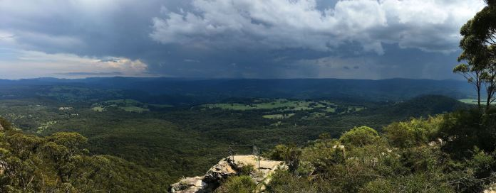 Panorama from Hargreaves Lookout