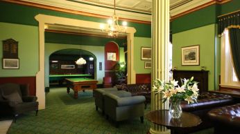 Inside the Carrington Hotel