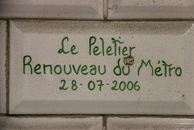 Le Peletier Metro
