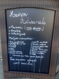 Macarons Menu Rue Mouffetard