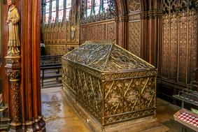 Tomb of St Geneviève in Saint-Étienne-du-Mont
